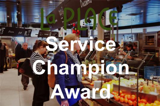 La Place, meilleur restaurant fast food des Pays-Bas – Service Champion Award